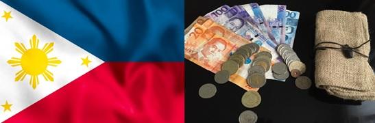 フィリピンの国旗と通貨