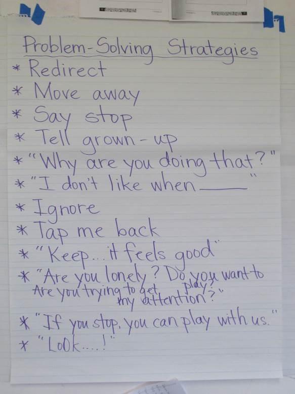 小4の子どもたちから出てきた問題解決方法 (子どもたちは次から次に解決方法を発言していた)