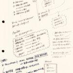 図1:研修のための秘蔵メモ
